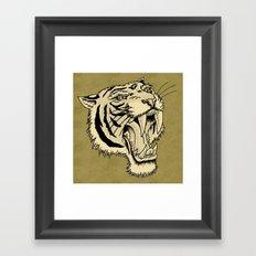 The Roar Framed Art Print