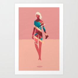 Movement 02 Art Print