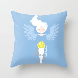 Endometriosis & Depression - Commissioned Work Throw Pillow