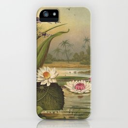 Water Plants iPhone Case