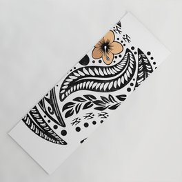 Polynesian Tribal Yoga Mat