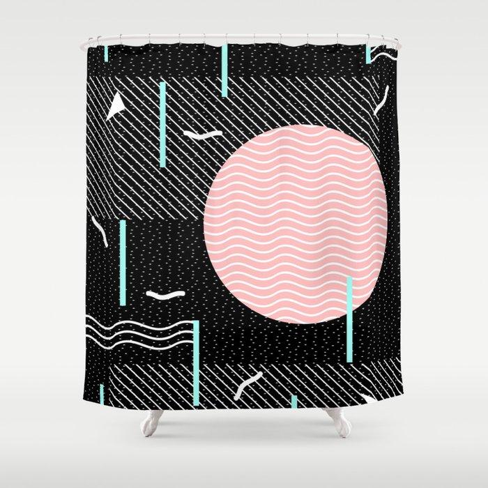 Memphis Summer Night Shower Curtain