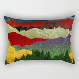 Smoky Mountain Shadows Rectangular Pillow
