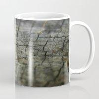 wood Mugs featuring Wood by David Bastidas