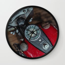 Oldschool Harley Wall Clock