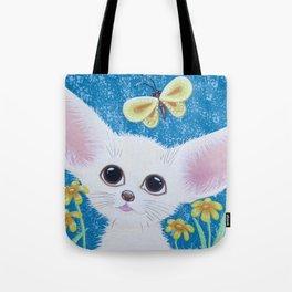 Little Fennec Fox Tote Bag