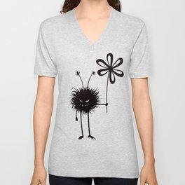 Evil Flower Bug Unisex V-Neck