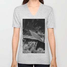 Bodie ghost town house Unisex V-Neck