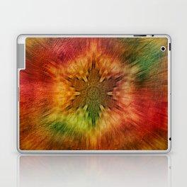 Psychedelic time warp Laptop & iPad Skin