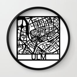 Ulm Wall Clock