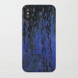 """Claude Monet """"Water Lilies and Weeping Willow Branches"""", 1919 iPhone Case"""