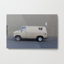 Wu Tang Van Metal Print