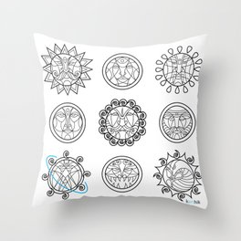 Astrology 3 Throw Pillow