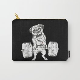 Pug Lift in Black Carry-All Pouch