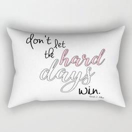 hard days (acomaf) Rectangular Pillow