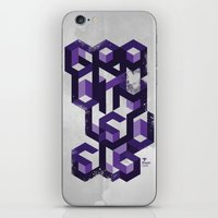 deadmau5 iPhone & iPod Skins featuring Gravity Levels - Geometry by Sitchko Igor