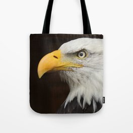 Eagle Photography | Nature | Wildlife Art | American | Rustic Wall Art | Animal Photography Tote Bag