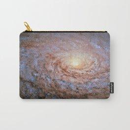 Galaxy Messier 63 Deep Field Telescopic Photograph Carry-All Pouch