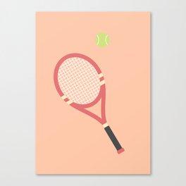 #19 Tennis Canvas Print