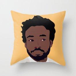 Childish Gambino Minimalist Poster Art Throw Pillow