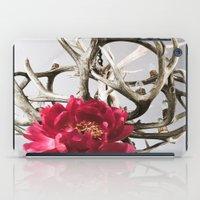 antler iPad Cases featuring Antler Flower by Jodi Kassowitz Photography