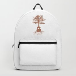 Guitarists Music Bands Environment Nature Lovers Forest Guitar Tree Gift Backpack