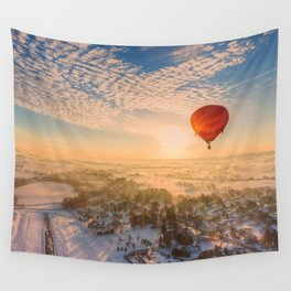 Floating Sunrise Wall Tapestry