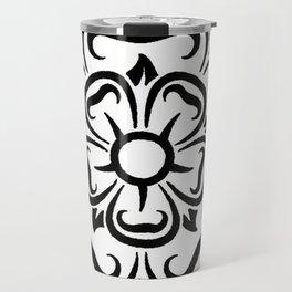 Compass Rose Design Travel Mug