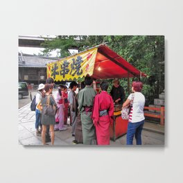Stop for a snack? Metal Print
