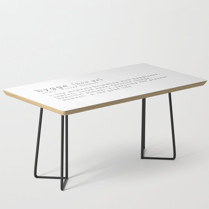 THE MEANING OF HYGGE Coffee Table