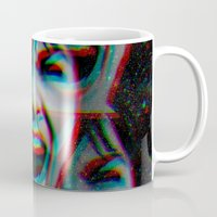 psycho Mugs featuring PSYCHO by Inception of The Matrix