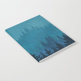 Winter forest Notebook