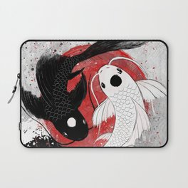 Koi fish - Yin Yang Laptop Sleeve