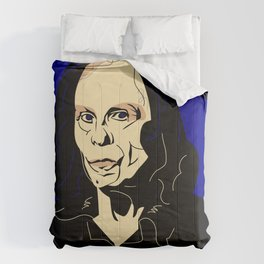 Рortrait of Ronnie James Dio. Comforters