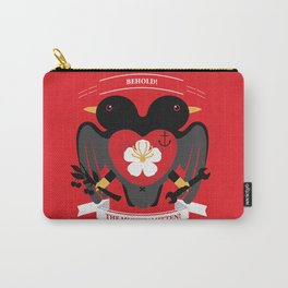 Doublebreasted Appleblossom Carry-All Pouch