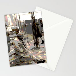 Art Philanthropist and Critic Stationery Cards