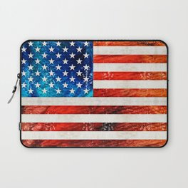 American Flag Art - Old Glory - By Sharon Cummings Laptop Sleeve
