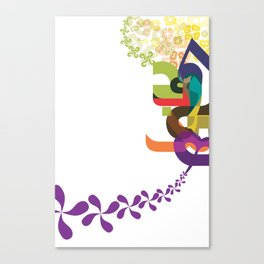Flowers of Simele Canvas Print