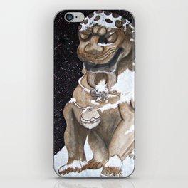 Lion Statue iPhone Skin