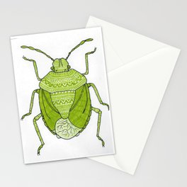 Aztec printed bug Stationery Cards
