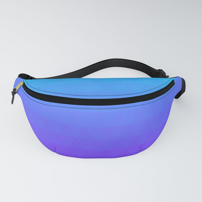 Blue and Purple Ombre Fanny Pack