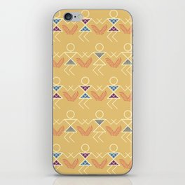 Summer Warli Print iPhone Skin