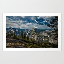 Yosemite National Park Landscape Art Print