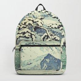 Seasonal Snow at Dara Backpack