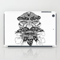 demon iPad Cases featuring demon by Fellow Artist