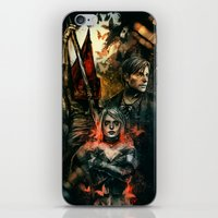 silent hill iPhone & iPod Skins featuring Silent Hill 2 - Atonement  by Tatiana Anor