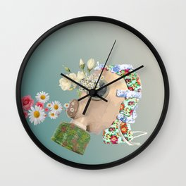 Breathe In the War Wall Clock