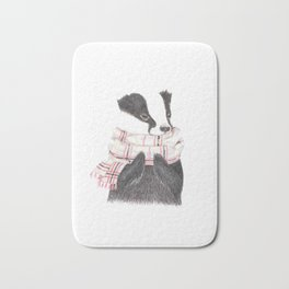Cozy Badger Bath Mat