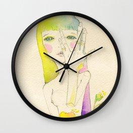 Dear. Spring Wall Clock
