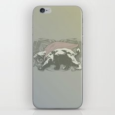 Fearless Creature: Saba iPhone & iPod Skin